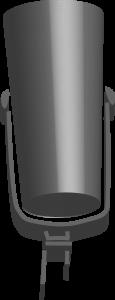 Sprecher Mikrofon im 3D Stil