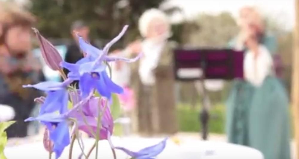 Bildausschnitt aus dem Veranstaltungsvideo für die Landesgartenschau 2016 in Bayreuth