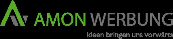 Logo Amon Werbung im Beitrag Telefonansage